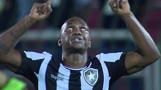 Gols, Botafogo 3 x 1 América-MG - Brasileirão Série A 15/06/2016