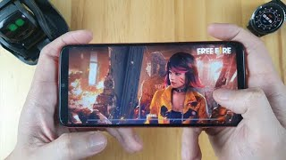 GRANA FREE FIRE GAMEPLAY ON GALAXY J8