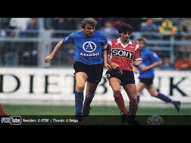 1988-1989 - Jupiler Pro League - 34. Club Brugge - RWD Molenbeek 4-3