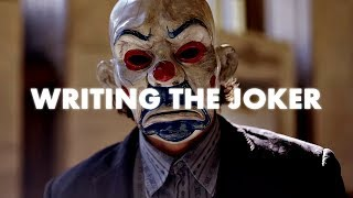 How I Wrote The Dark Knight (Writing Process of Christopher Nolan)