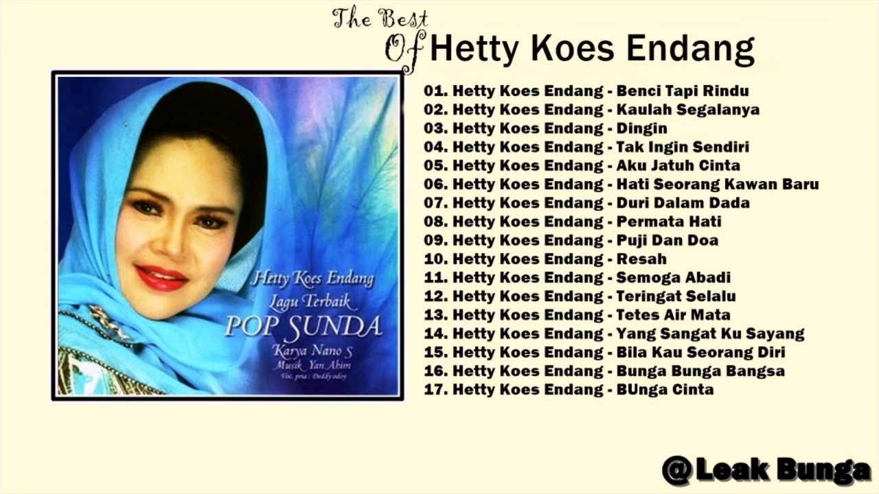Hetty Koes Endang Full Album Tembang Kenangan Lagu Lawas 80an 90an indonesia NONSTOP - YouTube