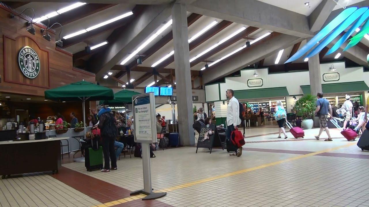 �� ����� �������� arrival maui kahului airport ��
