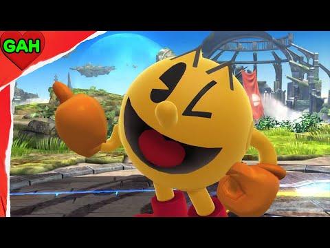 Super Smash Bros 4 - Pac-Man Announcement Trailer [Wii U / 3DS] HD