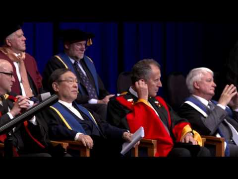 Bond University Graduation Ceremony June 2017 - Business & Law