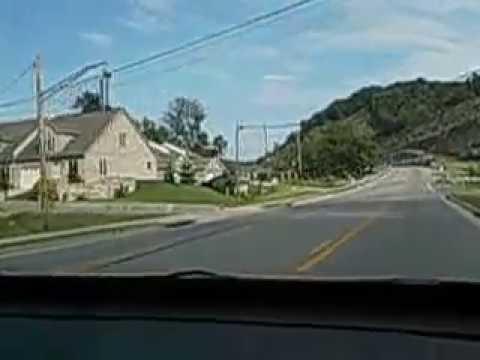 Driving thru Paintsville, Ky. toward Thelma.