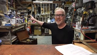 Ask Adam Savage: From Messy to (More) Organized