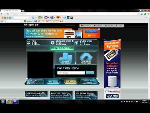 Globe wimax speed test [1mbps]
