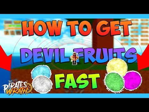 Pirates Wrath HOW TO FIND DEVIL FRUITS!!! || Best Spawns! || 2019
