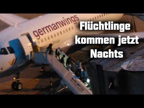 Bildergebnis für Fotos von Flugzeugen mit Flüchtlingen Nachts