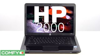 видеодемонстрация ноутбука HP 2000-2d80sr (F2U45EA) от Comfy