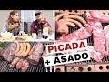 Una Parrilla Argentina: Construcción, Asado y Picada