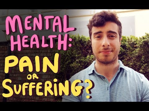 Pain or suffering? (MENTAL HEALTH)