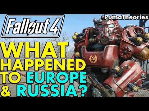 Fallout 4 Theory: What Happened to Europe and Soviet Russia Post W-A-R? (Lore) #PumaTheories