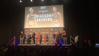Lina Lansberg at UFC Copenhagen Weigh-ins