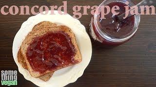 Concord Grape Jam Recipe Something Vegan