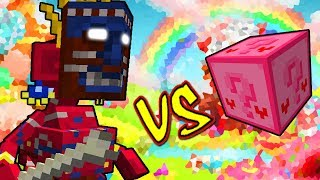 TRIBO NATIVA VS. LUCKY BLOCK AMOR (MINECRAFT LUCKY BLOCK CHALLENGE BARAKOA)
