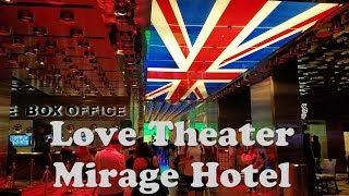 Video The Beatles Love Theater Entrance..Mirage Hotel Las Vegas download MP3, 3GP, MP4, WEBM, AVI, FLV Juni 2018