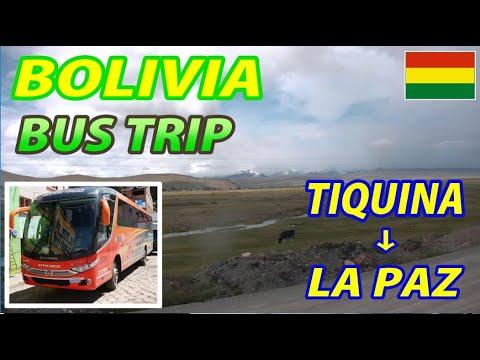 BUS TRIP TIQUINA → LA PAZ, Bolivia