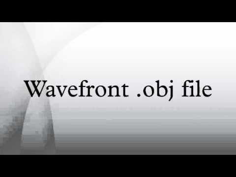 Wavefront .obj file