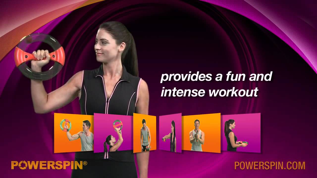 Powerspin video