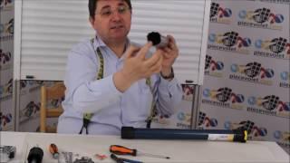 N°11-4 Mise en place du Moteur dans votre Axe d'Enroulement de Volet Roulant Traditionnel