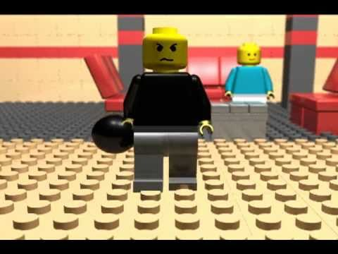 LEGO Bowling Animation - YouTube