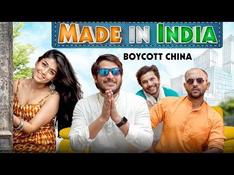 Made In India    Boycott China   Nazarbattu