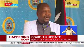 599 positive, 1062 discharged and 2 dead, latest COVID-19 numbers In Kenya according to MoH | FULL