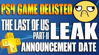 Download PS4 Game Delisted Without Warning! PS Plus October Announcement Date Mp3 and Videos