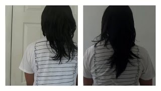 3 inches HAIR GROWTH 2 months CRAZYYYYY!!!!