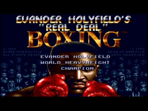 """Evander Holyfield's """"Real Deal"""" Boxing - Part 1 (GEN)"""