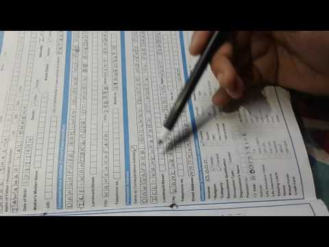 How to Fill up SBI Account Form 2017
