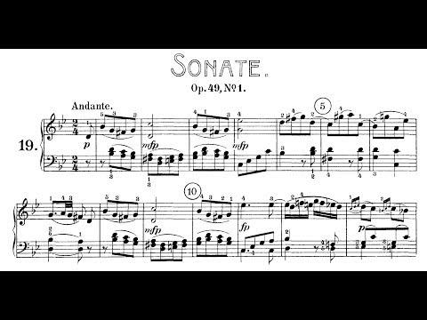 Beethoven: Sonata No.19 in G Minor, Op.49 No.1 (Biret, Lewis)
