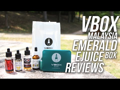 Ejuice Reviews : Vbox Emerald Box (Malay)