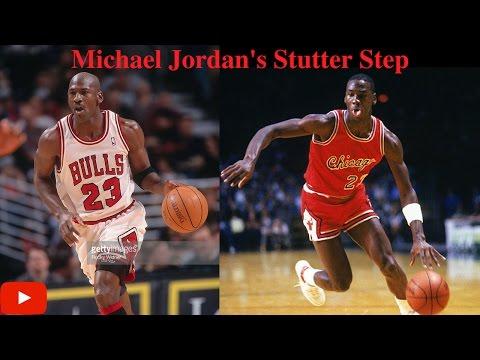 Michael Jordan's Stutter Step