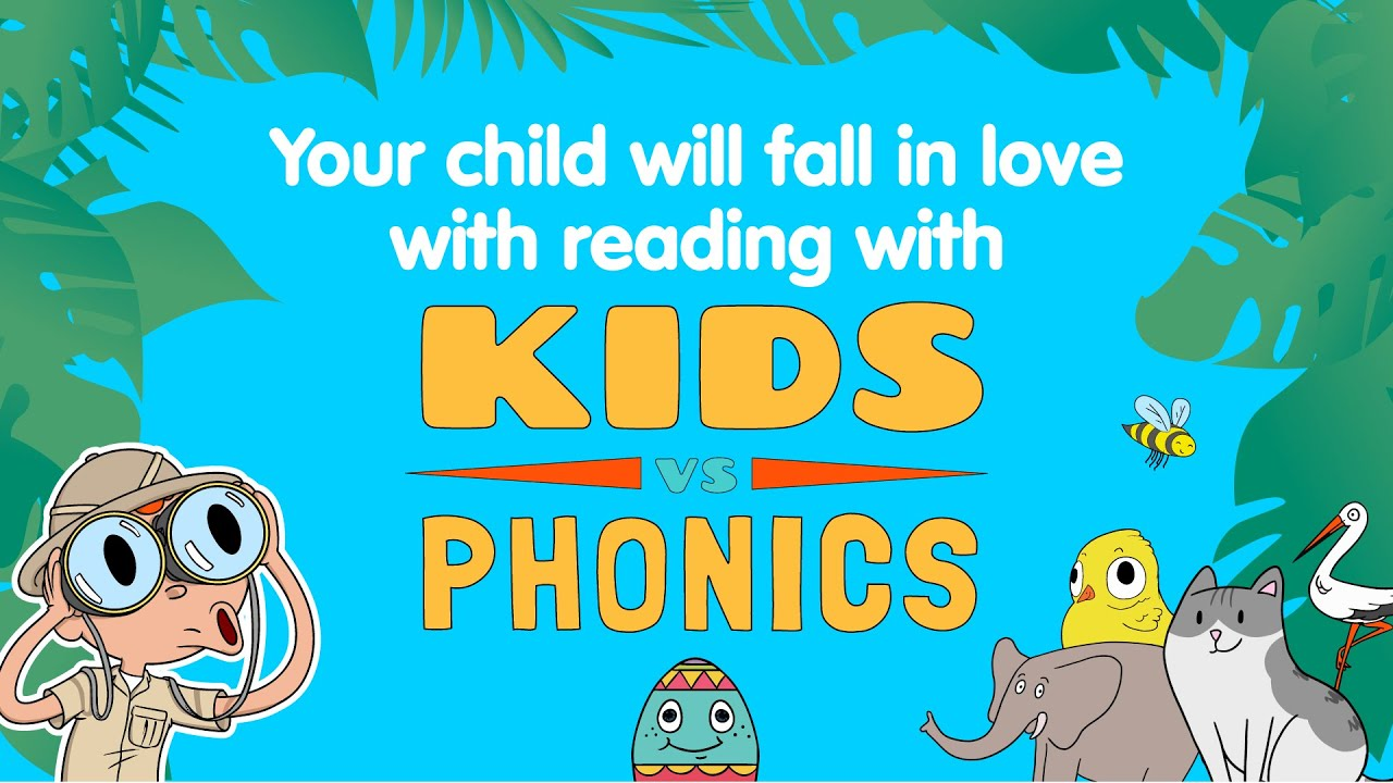 New FREE App: Help Your Child to Read Fast with Kids vs Phonics!