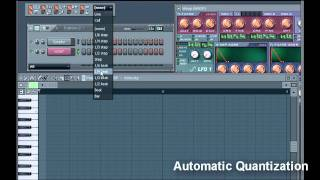 How to Quantize in FL studio