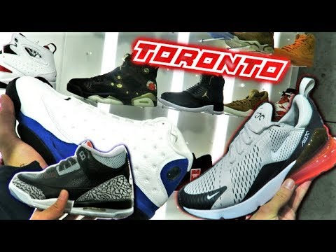 SNEAKER SHOPPING In TORONTO! What's SITTING? (NIKE, ADIDAS, JORDANS, PUMA) (VLOG) L SneakerTalk