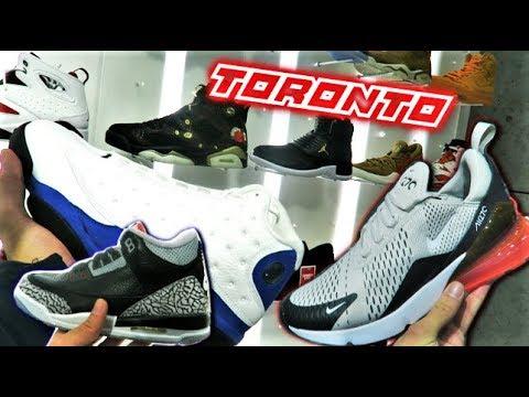 SNEAKER SHOPPING In TORONTO! What's SITTING? (NIKE, ADIDAS, JORDANS, PUMA) (VLOG) L SneakerTalk