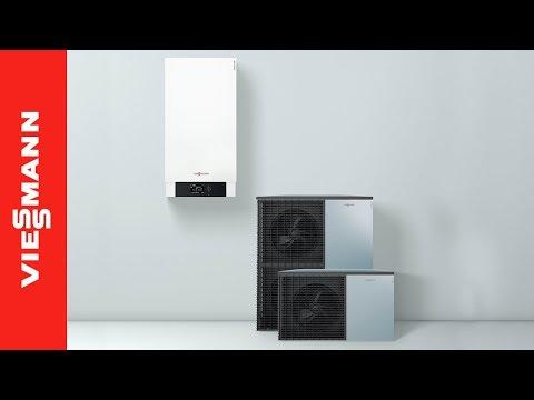 installazione pompa di calore split vitocal 200 s youtube. Black Bedroom Furniture Sets. Home Design Ideas