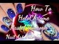 How To  HoloChrome Magic Unicorn Nail Art