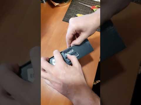 Миша A4Tech X89 USB Maze (4711421944984)