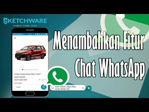 Sketchware | Fitur Chat WhatsApp