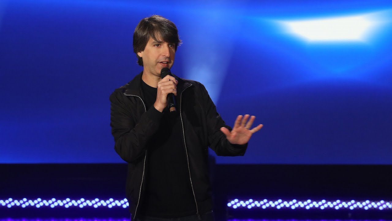 Demetri Martin Stand-Up on 'Ellen'