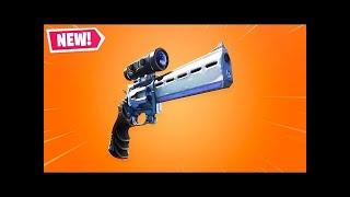 new revolver Fortnite 15+ wins new itemshop