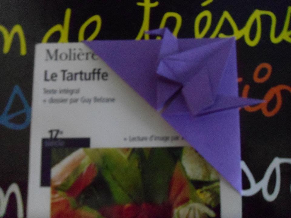 Origami Le origami le marque mage en forme d oiseau