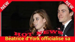 Béatrice d'York officialise sa relation avec son sulfureux boyfriend Edoardo Mapelli Mozzi