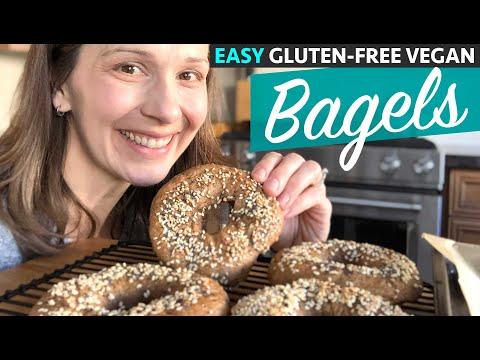 Easy GLUTEN-FREE VEGAN Bagels