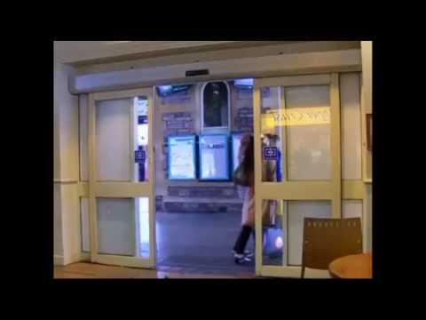 Automatic Glass Sliding Door Youtube