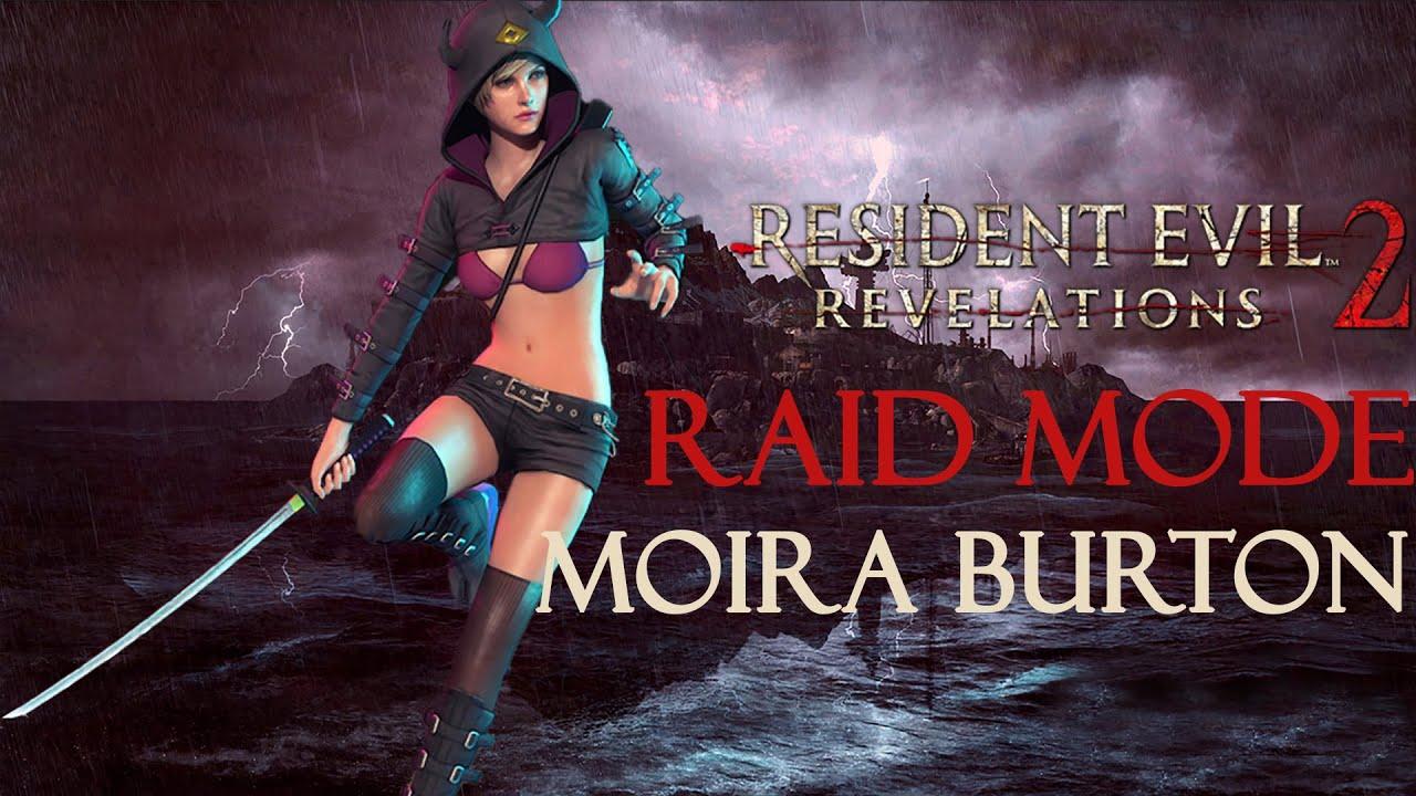 Resident Evil Revelation 2 Moira Alternate Costume Raid